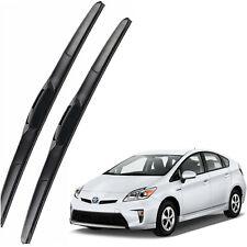 Genuine OEM Front Windshield Wiper Blades For 2010-2015 TOYOTA Prius Hatchback