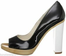 """Very High Heel (greater than 4.5"""") Patent Leather Slim Heels for Women"""