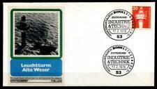 """Leuchtturm """"Alte Weser"""". FDC(3). BRD 1976"""