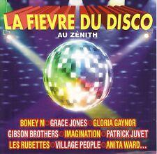 LA FIEVRE DU DISCO AU ZENITH - VILLAGE PEOPLE - BONEY M - AMANDA LEAR -  CD 16T