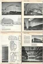 1961 House Of Culture At Helsinki Design, Plans