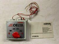 Märklin 6604 Delta - Control, Steuergerät für Delta - Mehrzugbetrieb mit Beschr.