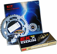 YAMAHA YBR 250 2007 > 2010 PBR / EK CHAIN & SPROCKETS KIT 428 PITCH