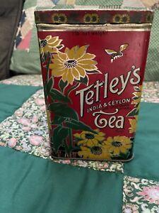 vintage tetly's tea tin