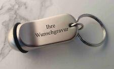 HOTEL Schlüsselanhänger im Kleinformat aus Metall - mit Ihrer WUNSCHGRAVUR