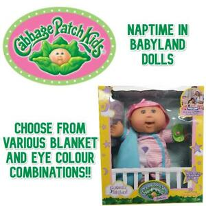 Cabbage Patch Kids Naptime in Babyland Baby Doll Collection (EX-DISPLAY)