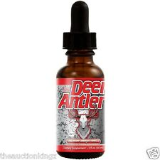 Deer Antler Spray Velvet Horn IGF-1 Extract Maximum Strength Formula 2 oz Bottle