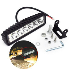 18W OffRoad Driving Fog Work 6 LED Bar Light Spot Lamp Truck For Jeep 4x4 Stable