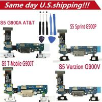 USB Charger Charging Port Dock Mic Flex Cable For Samsung Galaxy S5 G900A/T/V/P