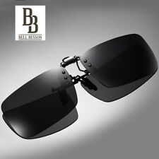 Unisex Sunglasses Clip On Flip up Driving Glasses Holiday Sun Mens Womens New