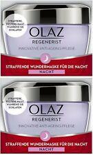 Olaz (Olay) Regenerist Overnight Miracle Firming Face Mask Cream (2 x 50ml)