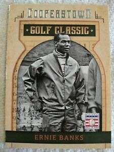 Panini Cooperstown Golf Classic 2015 #33 Ernie Banks