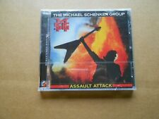 "UFO MICHAEL SCHENKER ""ASSAULT ATTACK"" FACTORY SEALED REMASTER CD W/ BONUS TRACK"