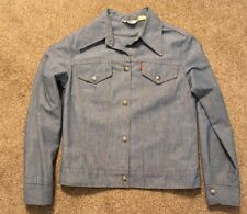 Vintage 1970's Women's Levi Snap Shirt/Jacket, Size Small