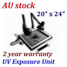 "AU  20"" x 24"" UV Exposure Unit Screen Printing Plate Making DIY Silk Screening"