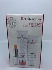Elizabeth Arden Eight Hour Cream Travelers Gift Set Hand Skin Lip Protective NIB