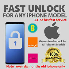 EE IPHONE UNLOCK CODE - 3Gs Till X, Xs, Xs Max,XR 100% ✅Super Fast