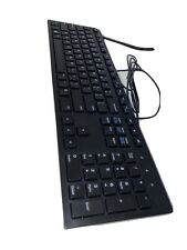 New Dell Kb216d Us Wired Keyboard For Laptop/Computer Open Box - Black