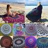 Round Mandala Indian Hippie Boho Tapestry Beach Picnic Throw Towel Mat Blanket