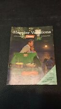 Vintage Coleman Happier Vacations Advertising Booklet Catalog 1965 FREE SHIP USA