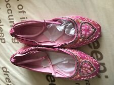 BRAND NEW SIZE 3 PINK ANKLE STRAP AND SEQUIN DETAILED SHOES