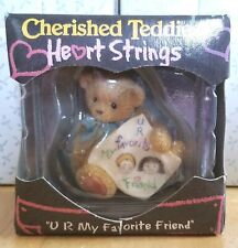 Rare Cherished Teddies - Heart Strings - 833290 - U R My Favorite Friend