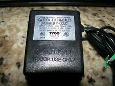 Tyco Slot Car Wall Plug Transformer Pack, Model B631S, 15VDC
