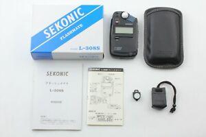 【 Near Mint in Box 】 Sekonic L-308S FlashMate Digital Light Meter from JAPAN