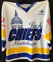 JACKY CHIEFS MANNHEIM Fantrikot Nr. 88 - SZÜCS - Eishockey Gr XL