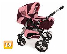 SONDERPREIS - Neu Kombi Kinderwagen Schwenkräder Sportsitz Autositz Babyschale