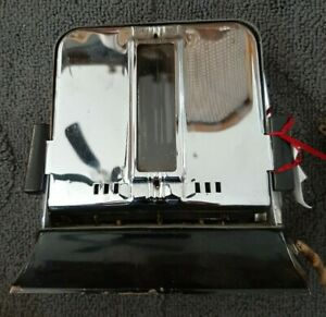 Vintage MASTERCRAFT Full Vision Toaster with 4 glass windows