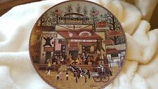 """Charles Wysocki plate #1 - 1993 Frontier Series """"Timberline Jack's Trading Post"""""""