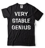 Very Stable Genius T-shirt Trump Political Donald Trump Tee Shirt