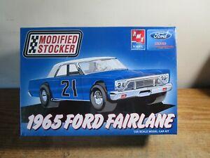 AMT ERTL MODIFIED STOCKER 1965 FORD FAIRLANE 1/25 MODEL CAR KIT NIB SEALED