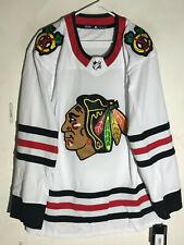 adidas Authentic Adizero NHL Jersey Chicago Blackhawks Team White sz 52