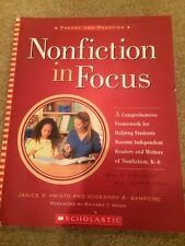Nonfiction in Focus: A Comprehensive Framework Students K-6 Teaching Book Kids