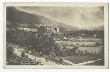 Cumbria - Keswick, Fitz Park & Keswick Hotel - Real Photo Postcard franked 1919