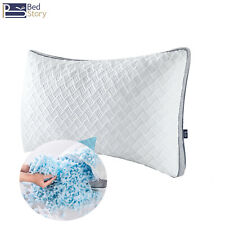 Bedstory Memory Foam Pillow Cooling Bed Pillows Side Back Stomach Sleeper Queen