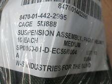 Sealed package of 10 USGI PAGST  Helmet Suspension Assemblies