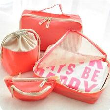 4Pcs Baby Diaper Nappy Storage Bag Mother Pouch Case Travel Organizer Handbag