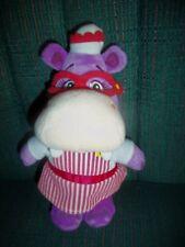 "Disney's Doc McStuffins 8"" Hallie Bean Bag Plush Purple Hippo Nurse Ships Free!"