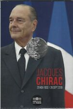 FRANCE 10 Euros Argent Jacques Chirac 2020 UNC Silver coin