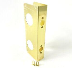 """Gatehouse Polished Brass Door Reinforcer for 1-3/4"""" Doors 0245762"""