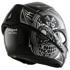 Shark Evoline Series 3 Mezcal Modular Shiny KUK Black / Silver Flip Up Helmet ZE