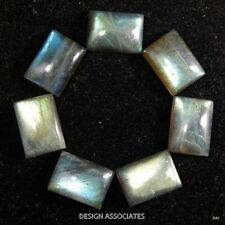 16X12 MM EMERALD CAB CUT LABRADORITE RAINBOW EFFECT AAA