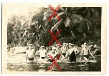 KREUZER EMDEN - orig. Foto, Badende, Port Victoria, Seychellen, Reise 1926-28