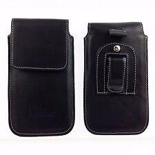 Univ Gürteltasche Echtleder Hülle Leder für iPhone Samsung Sony HTC bis 5,7 Zoll