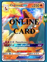 Charizard GX Hidden Fates Pokémon TCG Online PTCGO ONLINE CARD! SENT FAST!