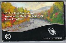 USA: America the Beautiful Quarters Silver Proof Set 2013