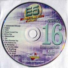 Chartbuster Essentials Karaoke - Volume 5 CDG - Disc 16